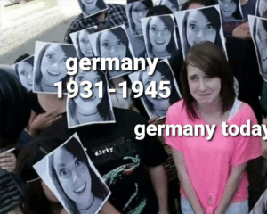 Germany ashamed: Germany ashamed