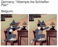 Belgium, Germany, and United: Germany: *Attempts the Schlieffen  Plan*  Belgium:  The  United  Kingdom  The  United  Kingdom