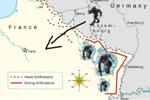 Halo, Germany, and History: Germany  Lille  Namur  Frankfurt O  Luxe m-  bour g  Fran ce  Paris  OStrasbourg  NW  NE  Weak fortifications  W  E  Strong fortifications  SW  SE  Basel Any halo reach fans?