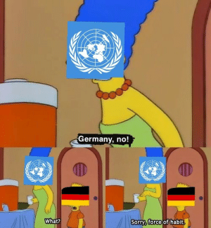 World War III times charm? by TheStorkClipper MORE MEMES: Germany, no!  What?  Sorry, force of habit.  हि World War III times charm? by TheStorkClipper MORE MEMES