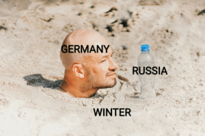 It's so cold I'm freezing: GERMANY  RUSSIA  WINTER It's so cold I'm freezing