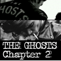 """Chapter 1 is elsewhere on my IG Chapter Too - the face of evil As the song came to its final verse, sweat dripped down Kings temple. Gabby's Adams apple flexed as he sang. Raffies brow was wrinkled in a pained expression. Johnny stopped playing his drums, signaling everyone to go 100% accapella. The quartets harmonies and melodies mixed in mid air like raw sweaty sex on fire. The bass notes of King and Raffies voice dancing with the soprano voices of Gabby and Johnny. Dozens of Ghosts in the pool hall were holding up their Zippo lighter flames in show of support, slowly waving them in the air. In crescendo fashion they fired off the last notes one after another. With Johnny hitting sounds so high it caused Lucifer and Angel to join in howling. Money tips began pooring at them from the audience. The crowd roared in cheering them on. They all began getting up and clapping in a standing ovation. They were bringing the house down tonight. Johnny tapered off his voice into a lullabye sound, ending the song. He opened his eyes to see King, Raffie, and Gabby looking at him. They all knew they just sang the song of their lives. They grinned as the audience clapping tapered off. Until there was only one person left clapping. They looked off to the back door of the pool hall. Where a large figure stood leaning in the doorway, clapping slowly. """"Encore....Encore.....Little Johnny."""" Came the voice of Jake. Johnny stiffened and cringed as he heard the voice of Jake his older brother. Johnny hadn't seen him in years. GHOSTS thruout the club immedietally stood up, many crossing their arms across their chests. Others reaching for pool cues. The were creating a show of force. Jake sauntered into the club, followed by members of his RED DEMONS gang. Johnny, Gabby, Raffie, and Mike stood up to meet him. Jake walked up to Johnny 6 inches from him. He towered over Johnny's 6'1"""" frame. """"Long time no see little brother"""", Jake spewed while smirking. Standing next to Jake was his right hand """