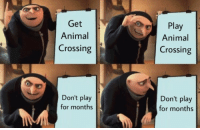 """Tumblr, Animal, and Blog: Get  Animal  Crossing  Play  Animal  Crossing  0  Don't play  for months  Don't play  for months <p><a href=""""https://acnladdict.tumblr.com/post/171946236658/i-decided-to-participate"""" class=""""tumblr_blog"""">acnladdict</a>:</p>  <blockquote><p>I decided to participate.</p></blockquote>"""