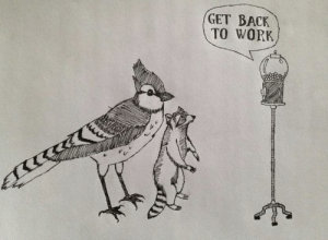OR YOUR FIRED: GET BACK  тO WORK OR YOUR FIRED