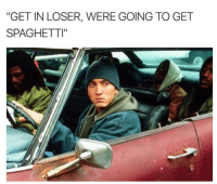 "Memes, Spaghetti, and 🤖: ""GET IN LOSER, WERE GOING TO GET  SPAGHETTI"""