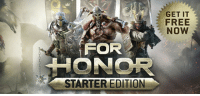 For Honor Starter Edition for free on Steam: GET IT  FREE  NOW  FOR  STARTER EDITION For Honor Starter Edition for free on Steam