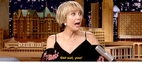 """<p><a href=""""https://www.youtube.com/watch?v=kO2pP0nF6Fc&amp;t=208s"""" target=""""_blank"""">Kristen Wiig had the perfect answers for Mad Lib Theater.</a></p>: Get out, you! <p><a href=""""https://www.youtube.com/watch?v=kO2pP0nF6Fc&amp;t=208s"""" target=""""_blank"""">Kristen Wiig had the perfect answers for Mad Lib Theater.</a></p>"""