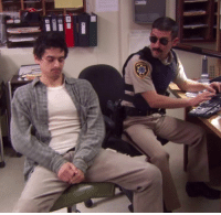Dank, 🤖, and Reno: Get ready for cuffing season with this RENO 911! #ComedyTBT.