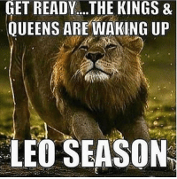 GET  READY....THE  KINGS  &  QUEENS AREWAKING UP  LEO SEASON it's officially LeoSeason, skymates! ♌️👑 for the next 4 weeks, Leo energy dominates the skies, making life more passionate, powerful, sexy & attention-grabbing. Leo is the confident leader of the zodiac. They love to create, to inspire, and to bring joy to their environment. They can be stubborn and inflexible at times, so this LeoSzn we have to make sure to not let our ego overpower our intentions. But ultimately, if you've been wanting to infuse your life with more self-love, this is the season where you'll do it with ease 🔥 Expect relationships to get heated, desires to be intense, and life to feel more like a party, especially with tmrw's NewMoonInLeo 🥂 Tag your favorite Leooo! 💅🏾🔮 . . KnowTheZodiac BdayMonth LeosBeLike FireSigns TheSigns Horoscope DailyHoroscope TheUniverse Astrology TheSun SunSigns Astrologer Astronomy