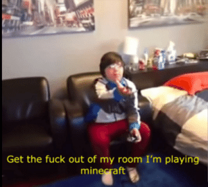 Me when i get drafted for ww3: Get the fuck out of my room I'm playing  minecraft Me when i get drafted for ww3