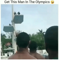 Funny, Lol, and Man: Get This Man ln The  OlympicsB Soo someone sign this man lol HoodClips