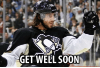 Wishing Letang a speedy recovery: GET WELL SOON Wishing Letang a speedy recovery