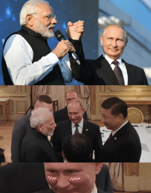 Dank, Memes, and Target: Get you a girl that looks at you like Putin looks at Indian Prime Minister by aayushks MORE MEMES