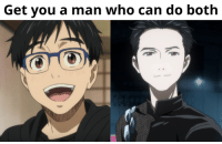 """Animals, Anime, and Fall: Get you a man who can do both  OTTO Anime: Yuri on Ice  Remember how in episode 2 Victor said """"you have to do the opposite of what people expect or you won't surprise them""""? Well, episode 3 sure was nothing but a surprise, and one of the best ones I've had in a long time, to add to it.  I loved so many things about it that it's genuinely difficult to articulate it all properly.  Can I start with the most obvious one? Breaking down gender roles. Or, not exactly that, but simply showing that a man can embrace his innate femininity and still be awesome. Everything related to the Eros performance was particularly impressive to me - the costume choice, the help from Minako-sensei, the animation of the performance itself, the dedication of the performance to one specific person, the entire meaning behind it were simply on point. When Western media struggle to present a feminine image of a man in an appealing and respectful manner, somehow Yuri on Ice pulls it off perfectly. Color me delighted.  Of course, I can't forget about Agape and even though the animation seemed to struggle more there (virtually half of the episode was just figure skating so I really can't blame the animators), it was another lovely program, under which lies the deeper story of Yurio and his family background. Unfortunately, he won't get to practice with Victor, but I hope we'll see more of him soon.  I also really appreciated the amount of attention put to emotions this episode because the competition between Yuuri and Yurio wasn't based on skill, but on how well they could get in touch with their feelings and get into their respective pieces. It's not a theme explored often, but it is important in as artistic a sport as figure-skating undeniably is.  Lastly, let me address the elephant in the room: aka the gay subtext, although to be perfectly honest, I think we can take out the """"sub"""" now. I think it's fair to say that what we've seen is now text, actual part of the canon"""