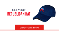 Looking for the perfect gift? Order a Republican elephant hat today-->https://nrcc.news/2lXnFWb: GET YOUR  REPUBLICAN HAT  ORDER YOURS TODAY Looking for the perfect gift? Order a Republican elephant hat today-->https://nrcc.news/2lXnFWb