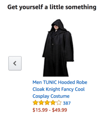 Target, Tumblr, and Blog: Get yourself a little something  Men TUNIC Hooded Robe  Cloak Knight Fancy Cool  Cosplay Costume  AKA387  $15.99-$49.99 gayhallmonitor:you know what? i think i will