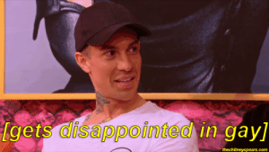 the straight crush struggle: gets disappointed in-gay]  alsappointea  theshitneyspears.com the straight crush struggle