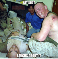 All Lives Matter, Memes, and Police: GETSHOT  LAUGHSABOUTIT From @veterans_come_first It's because he's a Marine. police cop cops thinblueline lawenforcement policelivesmatter supportourtroops BlueLivesMatter AllLivesMatter brotherinblue bluefamily tbl thinbluelinefamily sheriff policeofficer backtheblue