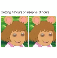 Girl Memes, Sleep, and How: Getting 4 hours of sleep vs. 8 hours how i look after getting 10 hours of sleep