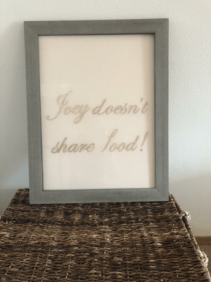 Getting crafty with my free time- JOEY DOESN'T SHARE FOOD!: Getting crafty with my free time- JOEY DOESN'T SHARE FOOD!