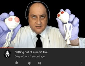 Future, Reddit, and Cool: Getting out of area 51 like  Ceapa Cool 1 second ago Asmr from the future