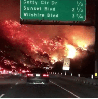 Sunset, Hell, and Trendy: Getty Ctr Dr  Sunset Blvd  Wilshire Blvd 3 3/  2  2 HELL A