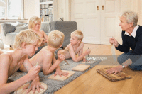 Hitler Youth recruits begin their training regimen. (c. 1940) colorized: gettyimages Hitler Youth recruits begin their training regimen. (c. 1940) colorized