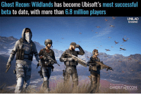 Memes, 🤖, and Ghost Recon: Ghost Recon: Wildlands has become Ubisoft's most successful  beta  to date, with more than  6.8 million players  UNILAD  GAMING  GHOST RECON What did you think of the beta?