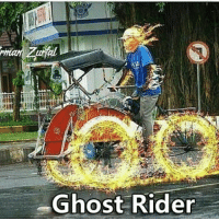 Ghost Rider , Ghost, and Indonesian (Language): Ghost Rider