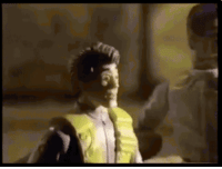Gif, Ghostbusters, and Toy: Ghostbusters Toy reaction gif