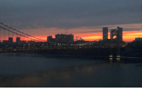 Ghostbusters Zuul Sunset over our bridge tonight https://t.co/GoQowPDimt: Ghostbusters Zuul Sunset over our bridge tonight https://t.co/GoQowPDimt