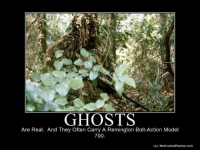 Ghost: GHOSTS  Are Real. And They often Carry A Remington Bolt-Action Model  700  Vo/ MotivatedPhotos.com