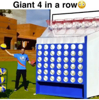 Giant 4 in a row 😳 Tag 3 friends you'd play this with 😂 - Follow @Sportzmixes For More‼️ - @crossedover: Giant 4 in a row Giant 4 in a row 😳 Tag 3 friends you'd play this with 😂 - Follow @Sportzmixes For More‼️ - @crossedover