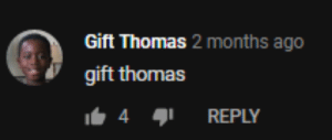 Thomas, Months, and Reply: Gift Thomas 2 months ago  gift thomas  4  REPLY gift thomas