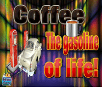 Good Morning. Fill my cup up with leaded full octane!: GigglePalooza  byRodney Hunt  ラED Good Morning. Fill my cup up with leaded full octane!