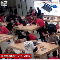 rp @foxnews - New video showed the panic that ensued after a gunman opened fire at an Apple Store in a New York mall last November. @pmwhiphop: Giilderlahd New Yor  FOX  NEWS  New York StatePoloo vig Storyful  November 12th, 2016 rp @foxnews - New video showed the panic that ensued after a gunman opened fire at an Apple Store in a New York mall last November. @pmwhiphop