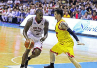 """Ups, White, and Filipino (Language): GINER Justin Brownlee: """"I went up against some great imports in the Governors Cup like Allen Durham, Eugene Phelps, James White and Henry Walker. And among the locals, that guy (Marc) Pingris was the toughest who defended me."""" - Justin Brownlee"""