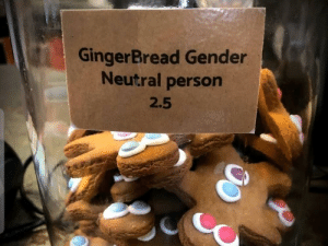 Run, run, till your speed starts to worsen! You'll never catch me, I'm the…: GingerBread Gender  Neutral person  2.5 Run, run, till your speed starts to worsen! You'll never catch me, I'm the…