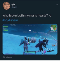 I never thought sad nigga hours would come so early 🥺 @larnite • ➫➫➫ Follow @Staggering for more funny posts daily!: gio  IO  @azn  who broke both my mans hearts? :c  #PS4share  NE  BATTLE BUS LAUNCHING IN 8 Secoeds  1%  94 views I never thought sad nigga hours would come so early 🥺 @larnite • ➫➫➫ Follow @Staggering for more funny posts daily!