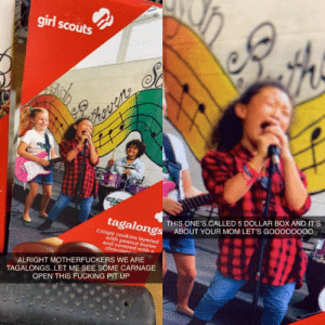 Girl Scouts are metal AF: Girl Scouts are metal AF