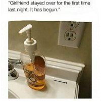 "🐸☕😂😂😂😂😂 pettypost pettyastheycome straightclownin hegotjokes jokesfordays itsjustjokespeople itsfunnytome funnyisfunny randomhumor: ""Girlfriend stayed over for the first time  last night. It has begun."" 🐸☕😂😂😂😂😂 pettypost pettyastheycome straightclownin hegotjokes jokesfordays itsjustjokespeople itsfunnytome funnyisfunny randomhumor"