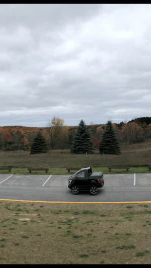 Girlfriend, Took, and Overlook: Girlfriend took a panoramic of a scenic overlook