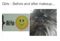 Girls, Makeup, and Before and After Makeup: Girls Before and after makeup. https://t.co/rGQO74Opyo