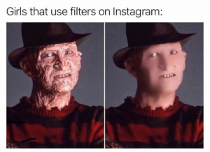 Transformation Tuesday!: Girls that use filters on Instagram: Transformation Tuesday!