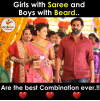That's True, Isn't it.. ??: Girls with Saree and  Boys with Beard  Are the best Combination ever That's True, Isn't it.. ??