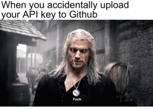 "git commit -m""old API key deprecated…try to hack me now hahaha ;)"": git commit -m""old API key deprecated…try to hack me now hahaha ;)"""