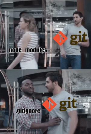 Git, Node, and You: git  node_modules  git  gitignore  b0 You have over 5000 changes in node_modules
