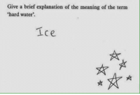 RT @SchooIAnswer: 😂 https://t.co/OCbtL1OwTp: Give a brief explanation of the meaning of the term  'hard water'. RT @SchooIAnswer: 😂 https://t.co/OCbtL1OwTp