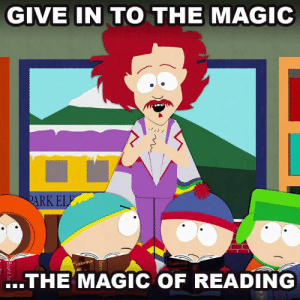 "Dank, Magic, and 🤖: GIVE IN TO THE MAGIC  RK EL  brina  ..THE' MAGIC OF READING #NationalBookmobileDay ""Chickenlover"" - s02e03"