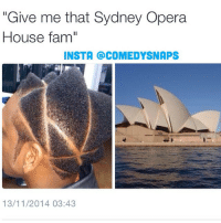 "Or the Lisa Simpson Fam 😂😂😂😩: ""Give me that Sydney Opera  House famil  INSTA COMEDYSNAPS  13/11/2014 03:43 Or the Lisa Simpson Fam 😂😂😂😩"